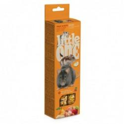 Snack Roedores Frutas y Nueces 2 sticks x 60 gr. Little One