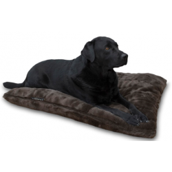 Funda Para Cama Perro Royal Fur Marrón 100x70cm Lex&Max