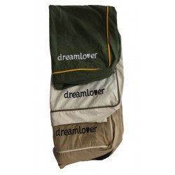 Funda Soft Dreamlover Marrón  Grande 120x80x10cm
