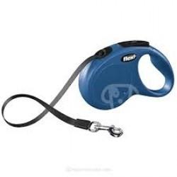 Flexi Perro New Classic Cinta Azul Talla S