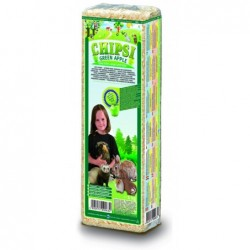 Lecho Roedores Chipsi Green Apple 1 Kg Cat's Best