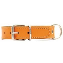 Collar Perro Piel Mountain Naranja Talla 70