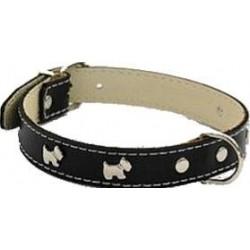 Collar Perro Little Westy Negro Talla 20