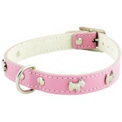 Collar Perro Little Westy Rosa Talla 25