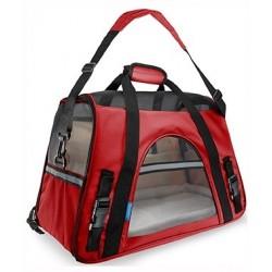 Transportín Fly Rojo 48x25x33cm Freedog