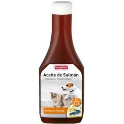 Aceite de Salmón Para Perro y Gato 425ml Beaphar