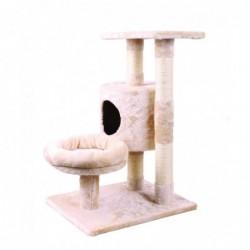 Rascador Gato City Cat Flat Gris
