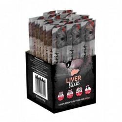 Snack Perro Barritas Foie 1 caja x 30 barritas Individuales.  Alpha Spirit