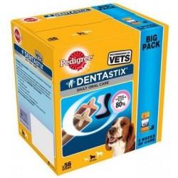 Snack Perro Dentastix Mediano 56uds Pedigree