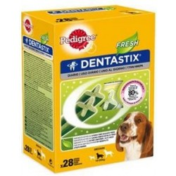 Snack Perro Dentastix Fresh Mediano 28uds Pedigree