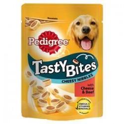 Snack Perro Tasty Bites Cheesy Bites 140gr Pedigree