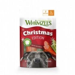 Snack Dental Navidad T-L .6 unidades. Whimzees