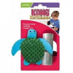 Juguete Gato Tortuga 9 cm (Catnip Gratis) NT43 Kong