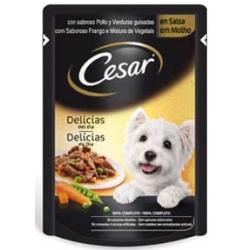 Pienso Húmedo Perro Delicias en salsa 100gr Cesar