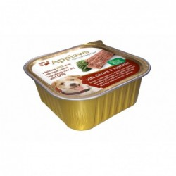 Pienso Perro Paté Pollo y Vegetales 150 gr. Applaws