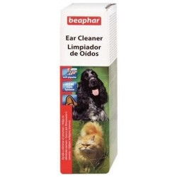 Limpiador de Oídos Para Perro y Gato 50ml Beaphar