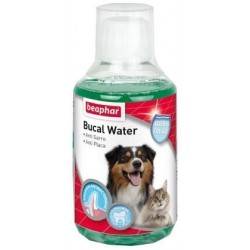 Higiene Dental Perro y Gato Bucal Water 250ml Beaphar