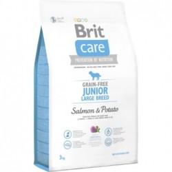 Pienso Perro Sin Cereales Junior Large 3kg Brit Care