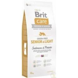 Pienso Perro Sin Cereales Senior Light 3kg Brit Care
