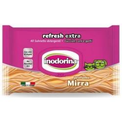 Toallitas Perro y Gato Refresh Extra Mirra Inodorina