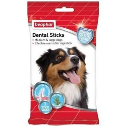 Snack Perro Dental Sticks Mediano y Grande Beaphar