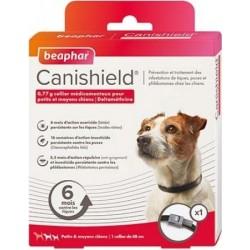 Collar Perro Antiparasitario Canishield Beaphar 1 x 48 Cm