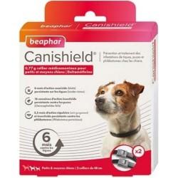 Collar Perro Antiparasitario Canishield Beaphar 2 X 48 Cm