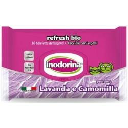 Toallitas Perro y Gato Lavanda y Manzanilla Inodorina