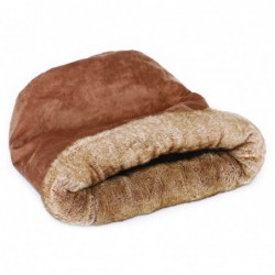 Cama Gato Cueva Brownie Sock