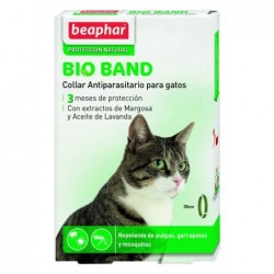 Collar Antiparasitario Gato Bioband Margosa (neem) Beaphar