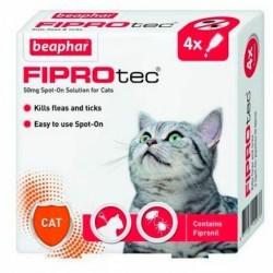 Pipetas Antiparasitarias Gato 4 x 50 mg. Beaphar