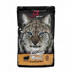 Snack Humedo Gato Mousse de Cordero 1x85gr. Alpha Spirit