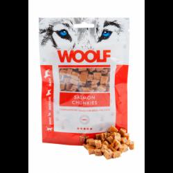Snack Perro y Gato Dados de Salmón 100gr Woolf