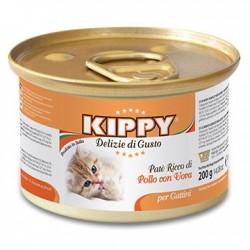Pienso Húmedo Gatito Paté Kitten 1x200gr Kippy WK3398