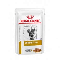 Royal Canin Pienso Gato Urinary S/O (salsa)  1x85 gr