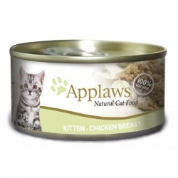 Pienso gato Kitten lata Pollo 70 gr. Applaws