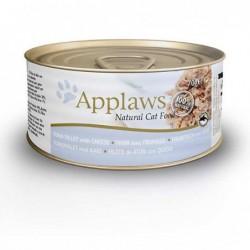 Pienso gato Kitten lata Atún con Queso 70 gr. Applaws