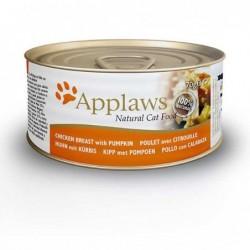 Pienso gato Kitten lata Pollo con Calabaza 70 gr. Applaws