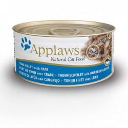 Pienso gato Kitten lata Atún y Cangrejo 70 gr. Applaws
